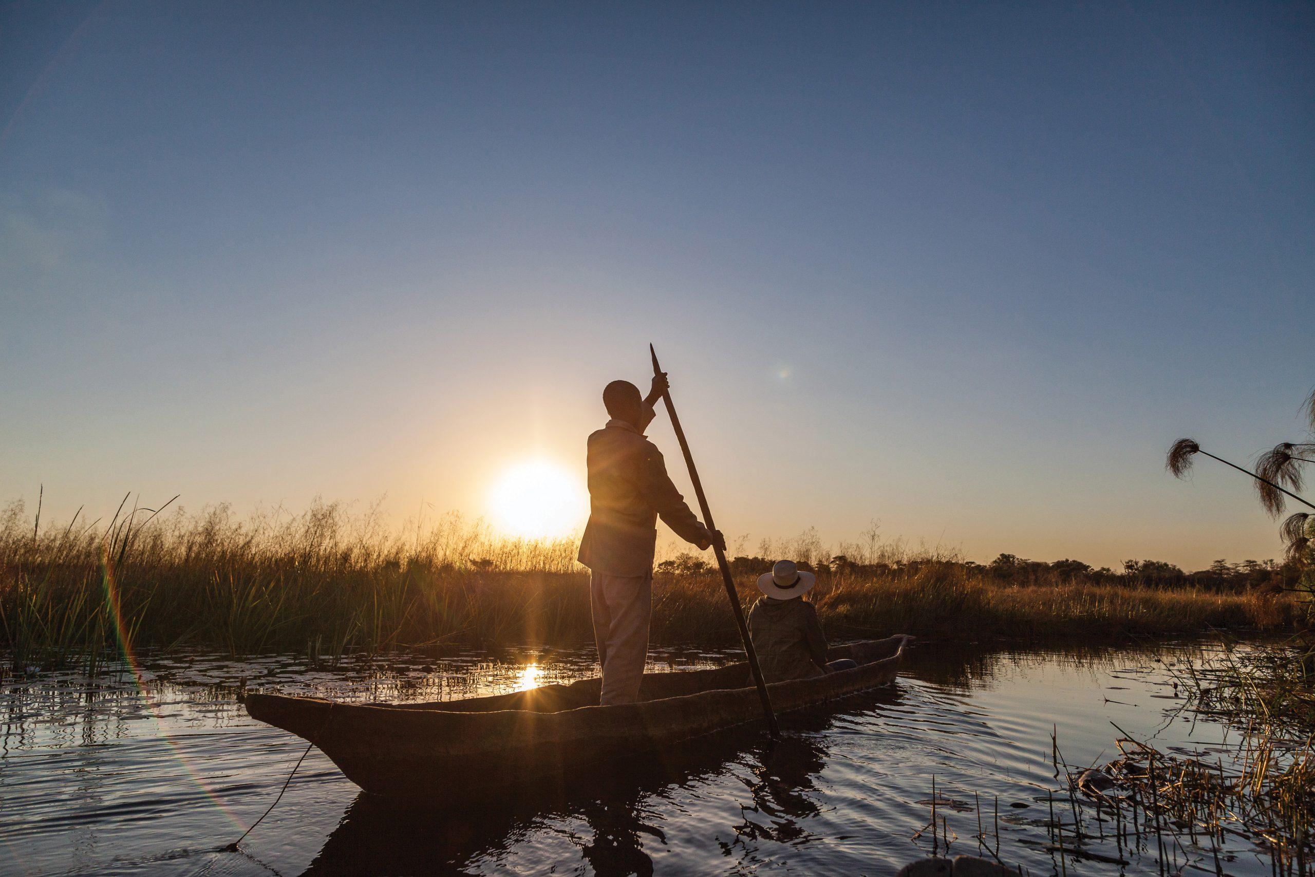 mokoro Kwando river